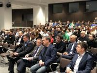 """В """"Лужниках"""" прошла внеочередная Конференция Московского Союза бильярдного спорта"""